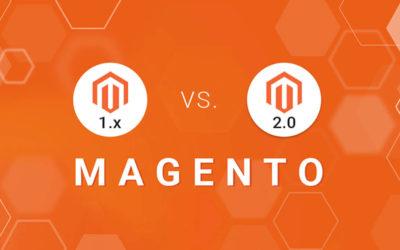 De belangrijkste verschillen tussen Magento 1.9 en 2 en de voordelen van een overstap