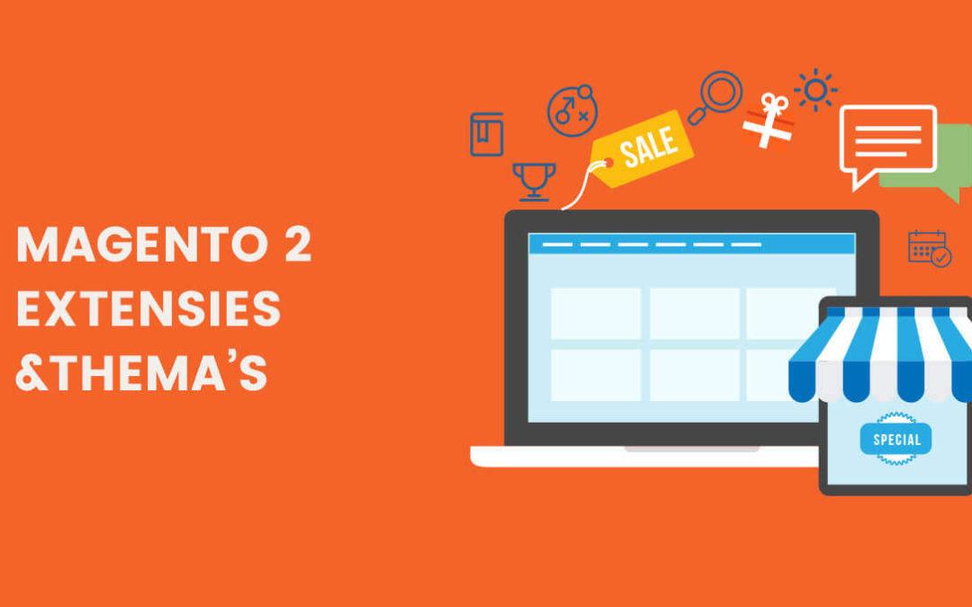 Extensies en thema's voor Magento 2: wat is belangrijk?