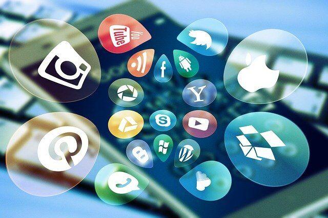 De verschillende sociale media
